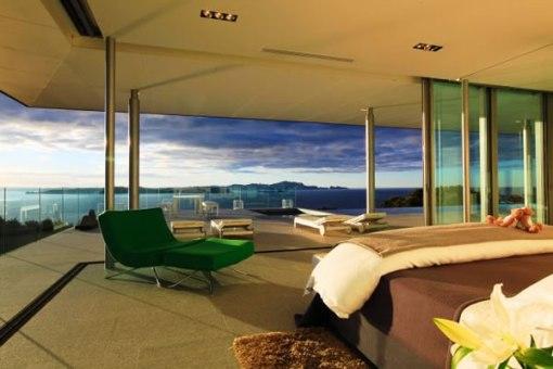 Arquitetura de casa na nova zelandia - dica de decoração de quarto de casa - suite master