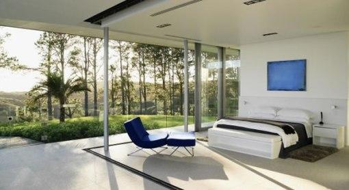 Arquitetura de casa na nova zelandia - dica de decoração de quarto de casal