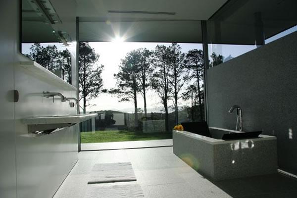 TEMPORADA EM BELA CASA NA NOVA ZELÂNDIA  ObravipBlogs  Móveis, Decoração, D -> Arquitetura De Banheiro Com Banheira