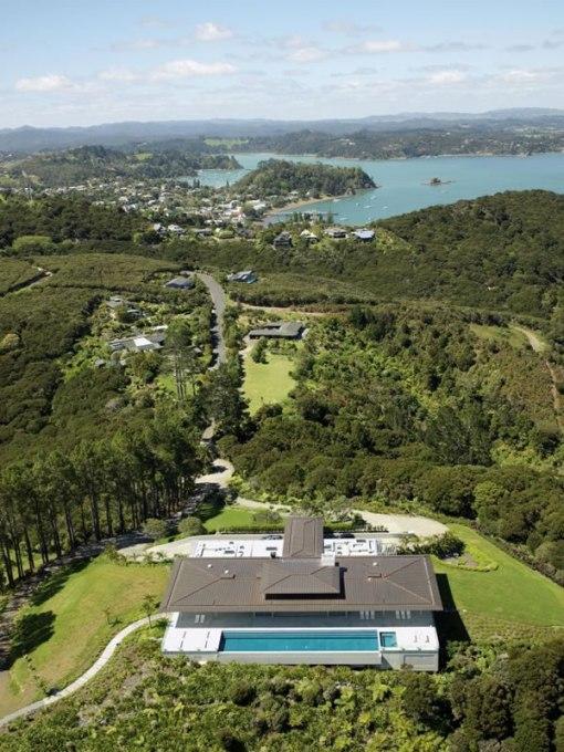 Arquitetura de casa na nova zelandia