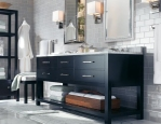 Decoracao de casa - dicas de decoração de banheiro com tons de cinza