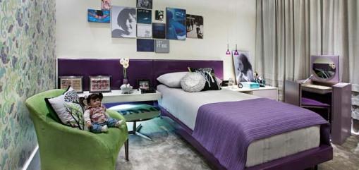 Dica de decoracacao casa cor bh - dica de decoracao de quarto de adolescente - Quarto Teen - Crilândoa Nogueira e Leila Pimenta