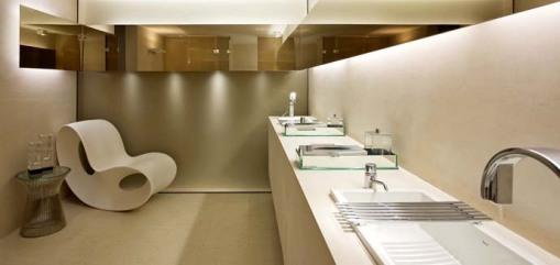 Dica de decoracao de banheiro na caso cor 2009 belo horizonte - Danielle Nogueira Bellini e Luís Gustavo Bellini