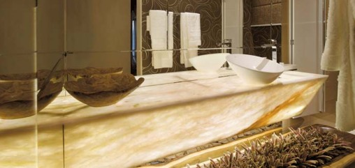 Dica de decoracao de lavabo na caso cor 2009 belo horizonte -  Sílvia Lage e Flavi Pereira