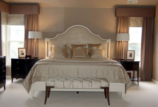 Dica de decoração de quarto de casal - Cama e criado mudo