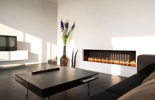 Dica de decoração de sala com lareira moderna 3