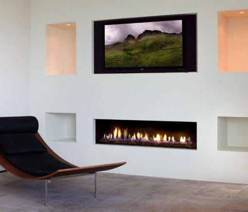 Dica de decoração de sala com lareira moderna dando charme ao ambiente