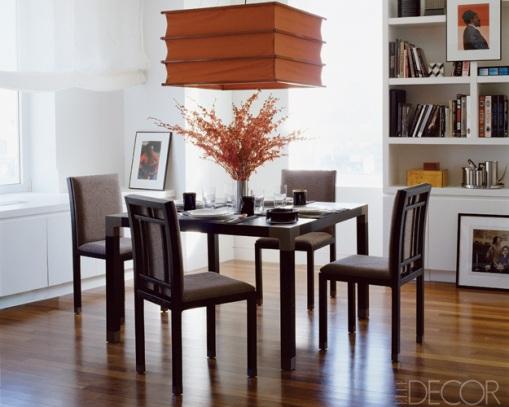 Dica de decoração - Decoração da sala de jantar do John Mayer
