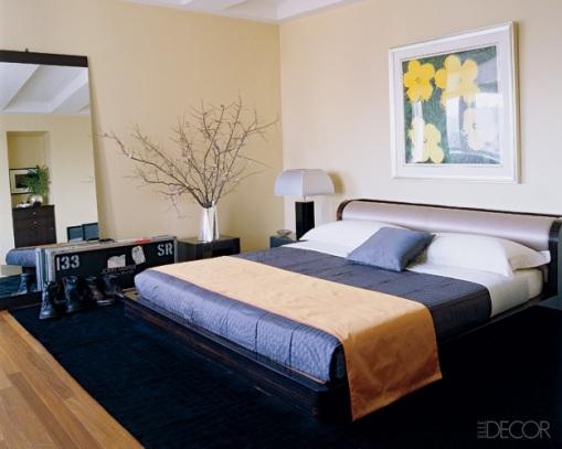 Dica de decoração - Decoração do quarto do John Mayer