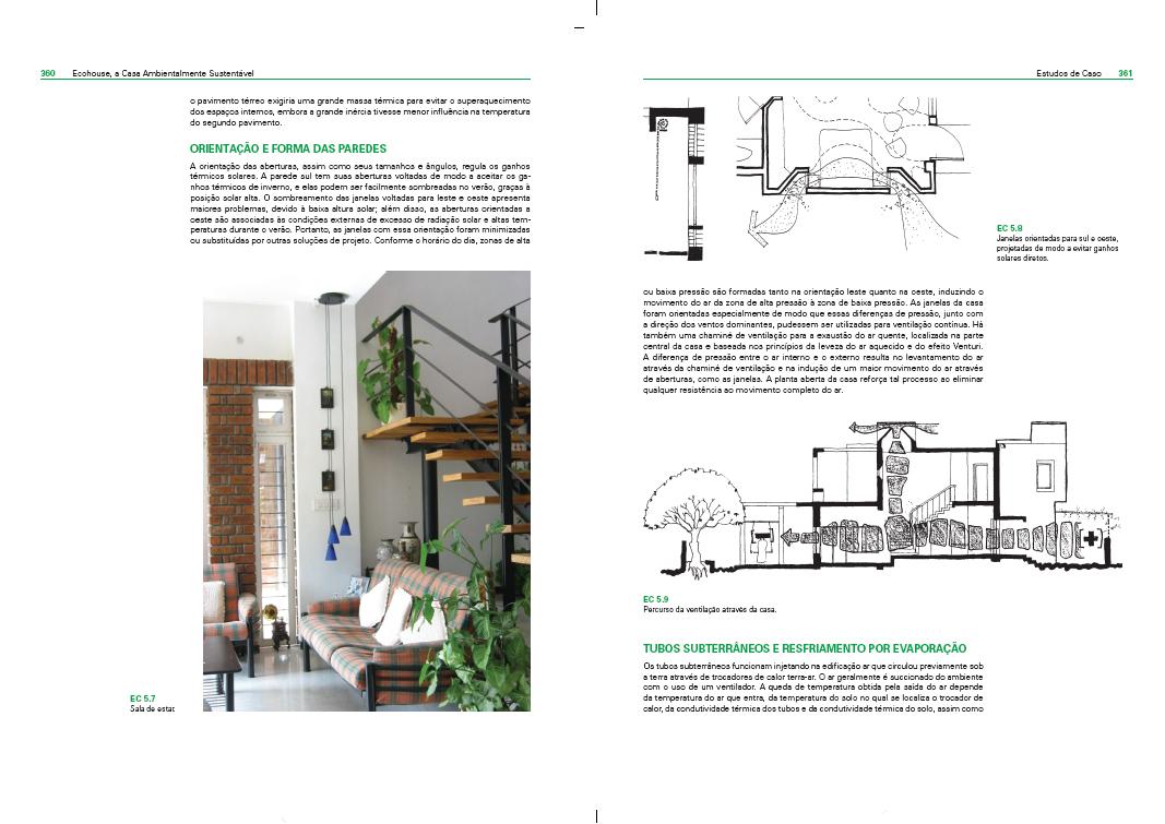 Dica de livro de decoração  Livro Ecohouse  casa ecologica 4