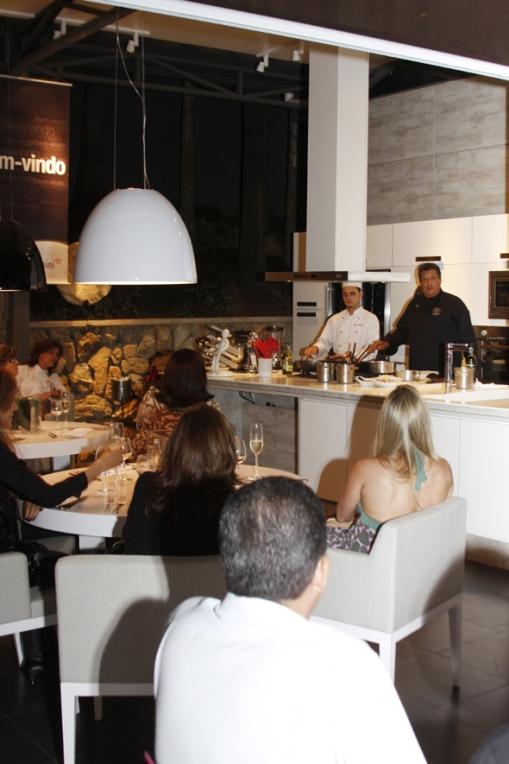 Todeschine realiza evento de gastronomia na Casa Cor Minas