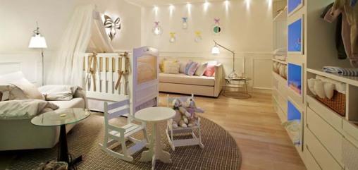 Dica de decoracao de quarto de bebê - Suíte do Bebe casa cor MG 2009 por Manuela Senna