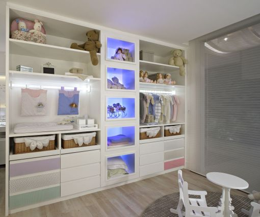Dica de decoracao de quarto de bebê - Suíte do Bebe casa cor MG 2009
