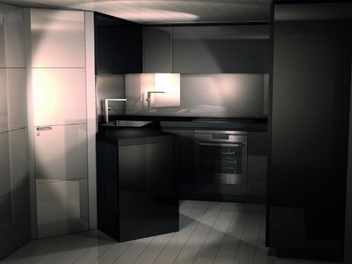 dica de decoração de interior de yacht - decoração de cozinha moderna