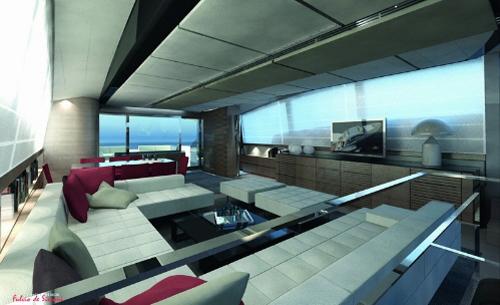 dica de decoração de interior de yacht - dica de decoração